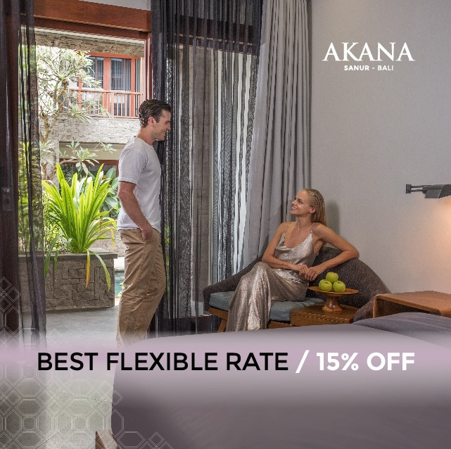 sanur hotel best available rate- akana boutique hotel sanur
