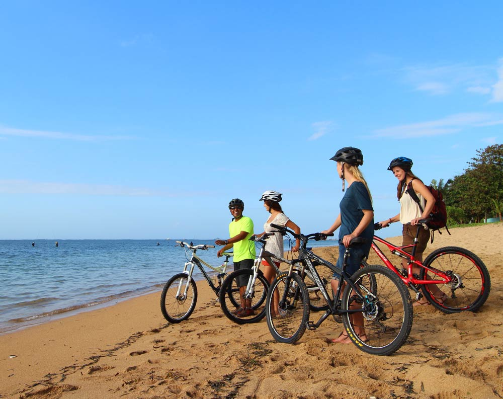 sanur beach activities cycling